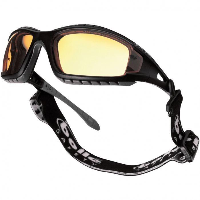 Bolle Tracker Glasses Yellow Black Frame