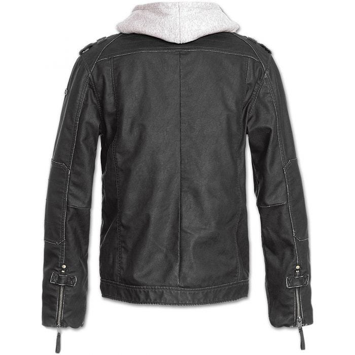 Brandit Black Rock Jacket Black / Grey