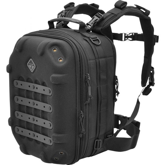 Hazard 4 Grill Hard MOLLE Photo Backpack Black