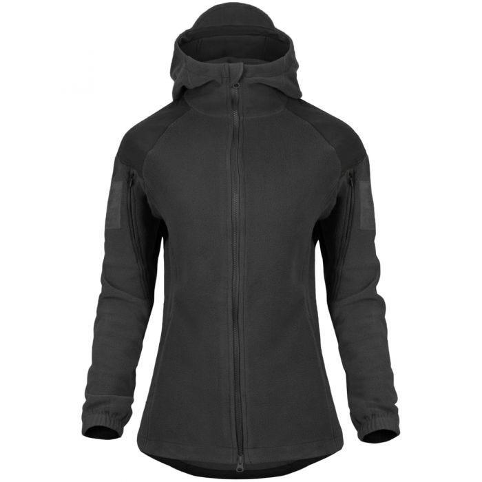 Helikon Womens Cumulus Heavy Fleece Jacket Black
