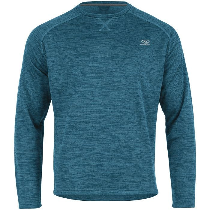 Highlander Crew Neck Sweater Marine Blue