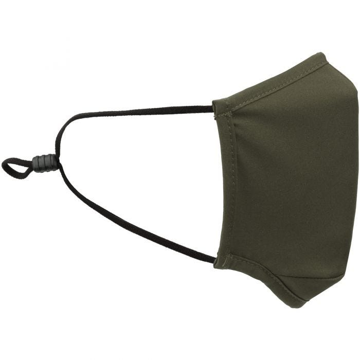 Mil-Tec Mouth/Nose Cover Square Shape Elastic Olive
