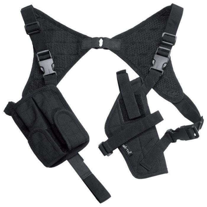 Mil-Tec Shoulder Holster Cordura Black