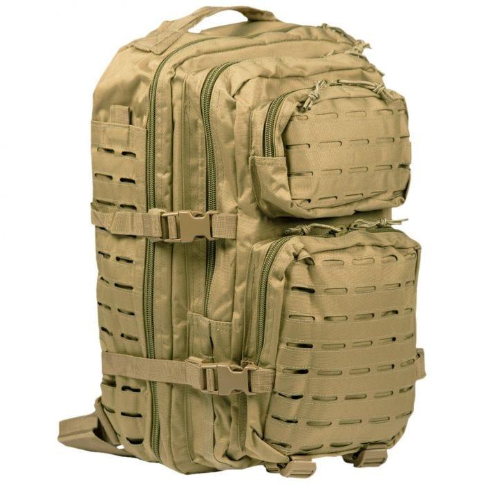 Mil-Tec US Assault Pack Large Laser Cut Coyote