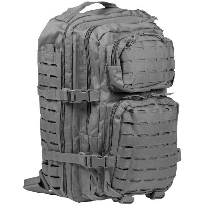 Mil-Tec US Assault Pack Large Laser Cut Urban Grey