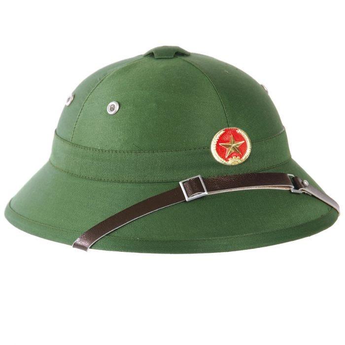 Mil-Tec Vietcong Tropical Helmet with Badge