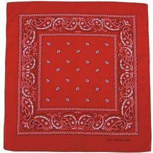 MFH Bandana Cotton Red