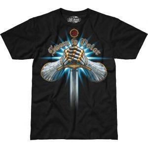 7.62 Design Sworn To Valor T-Shirt Black