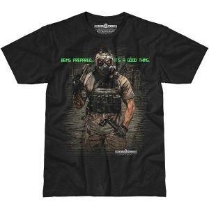 7.62 Design Being Prepared T-Shirt Black