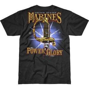 7.62 Design USMC Power & Glory Battlespace T-Shirt Black