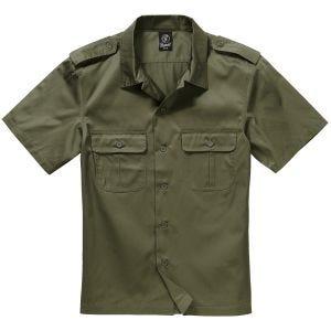 Brandit US Shirt Short Sleeve Olive