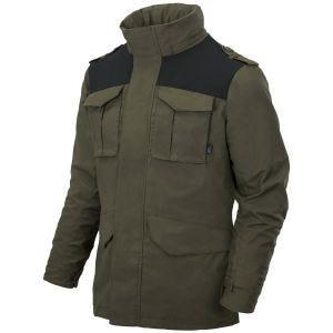 Helikon Covert M-65 Jacket Taiga Green / Black