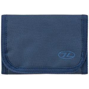 Highlander Shield RFID Wallet Navy Blue