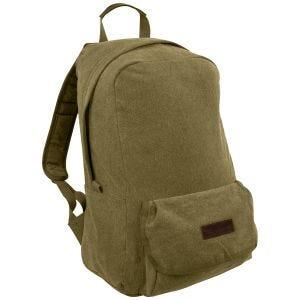 Highlander Stirling Canvas Backpack 30L Olive