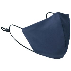 Mil-Tec Mouth/Nose Cover Wide Shape Ripstop Dark Blue