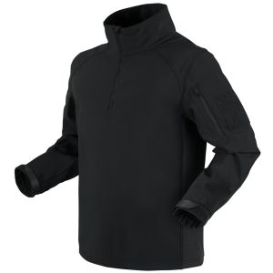 Condor Patrol 1/4 Zip Softshell Jacket Black