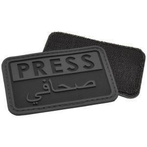 Hazard 4 3D Press / Arabic Reporters Morale Patch Black