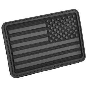 Hazard 4 USA Flag Right Arm Morale Patch Black
