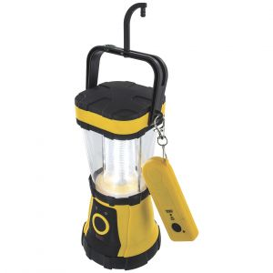 Highlander 24 LED Remote Control Lantern Yellow / Black