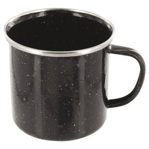 Highlander Deluxe Enamel Mug Black