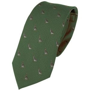 Jack Pyke Silk Tie Partridge Green