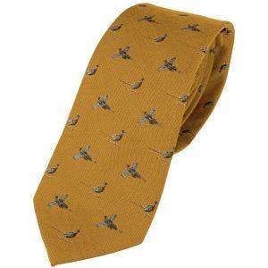 Jack Pyke Silk Tie Pheasant Mustard