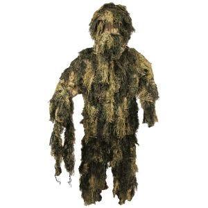 MFH Camouflage Ghillie Suit Digital Woodland