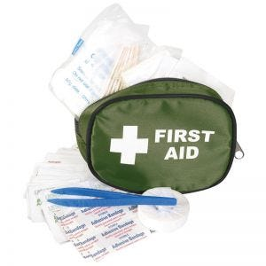 Mil-Com Traveller First Aid Kit Small Olive