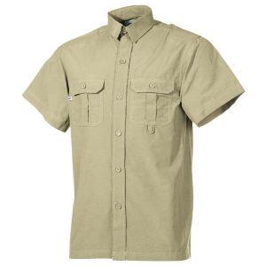 Fox Outdoor Short Sleeve Outdoor Shirt Khaki