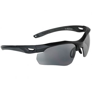 Swiss Eye Skyray Sunglasses - Smoke + Clear Lens / Black Rubber Frame