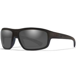 Wiley X WX Contend Glasses - Smoke Grey Lens / Matte Black Frame