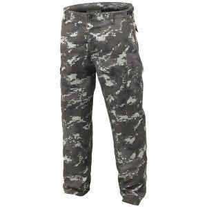 Mil-Tec BDU Ranger Combat Trousers Digital Black
