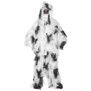 Mil-Tec Ghillie Suit Anti-Fire Basic Snow