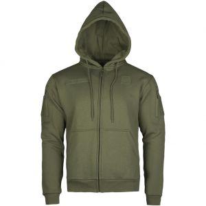 Mil-Tec Tactical Zipped Hoodie Ranger Green