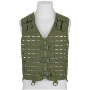 Mil-Tec Laser Cut Carrier Vest Olive