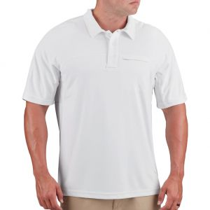 Propper Men's HLX Polo Short Sleeve White