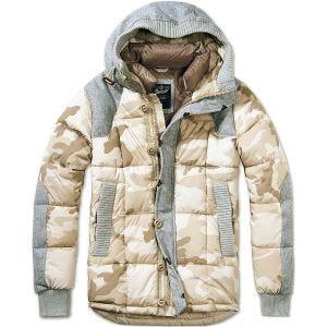 Brandit Garret Jacket Desert Camo Grey