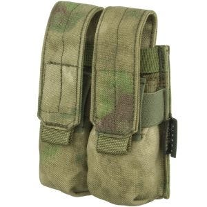 Flyye Double 9mm Magazine Pouch Ver. FE MOLLE A-TACS FG
