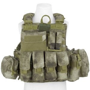 Flyye Force Recon Vest with Pouch Set ver. Mar A-TACS AU