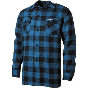 Fox Outdoor Lumberjack Shirt Blue / Black Checkered