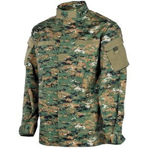 MFH ACU Ripstop Field Jacket Digital Woodland