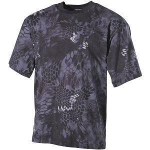 MFH T-shirt Snake Black