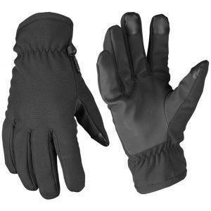 Mil-Tec Softshell Thinsulate Gloves Black