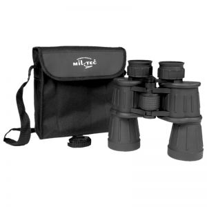 Mil-Tec Binocular 7x50 with Rubber Coated Black