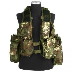 Mil-Tec South African Assault Vest Vegetato Woodland