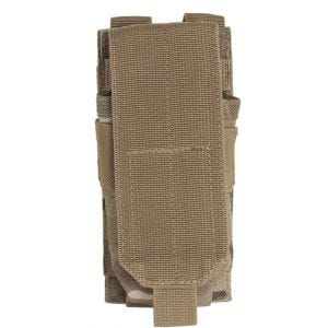 Mil-Tec Single M4/M16 Magazine Pouch MOLLE Multitarn