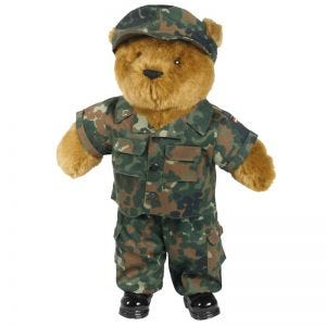 Mil-Tec Teddy Bear Suit Large Flecktarn