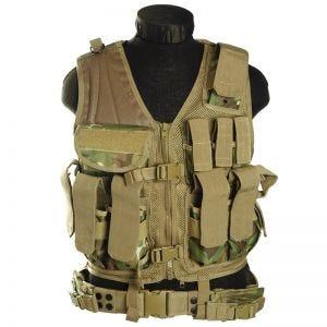 Mil-Tec USMC Tactical Vest Arid Woodland