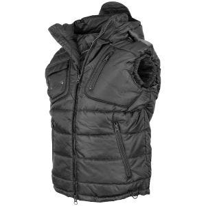 Mil-Tec Pro Vest with Detachable Hood Black
