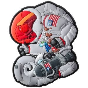 Patchlab Chameleon Apollo Armstrong Patch Grey